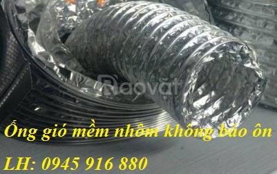 Ống bạc thoát khí máy hút mùi D75, D100, D125, D150, D175, D200
