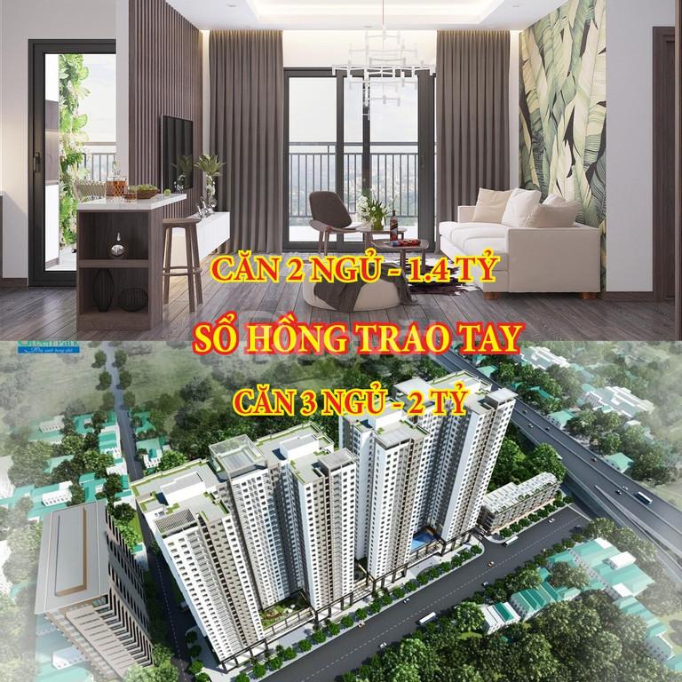 Chỉ với 600 triệu, sở hữu ngay chung cư Hoàng Mai, đường Giải Phóng