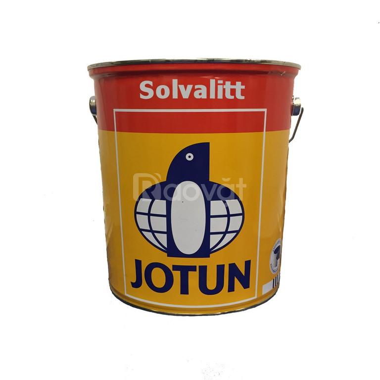 Bán sơn chịu nhiệt Jotun Solvalitt 250 độ màu bạc giá tốt