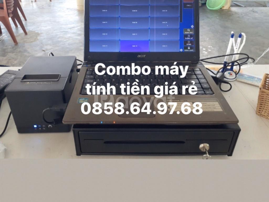 Combo máy tính tiền cho nhà hàng giá rẻ tại Đăk Nông