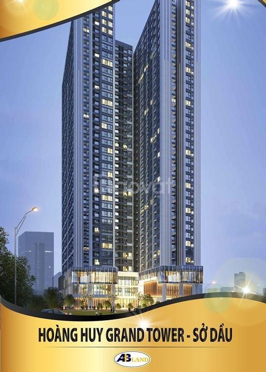 Nhận cọc giữ chỗ các căn đẹp giá tốt chung cư Hoàng Huy Grand Tower