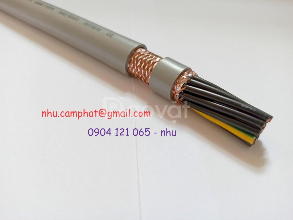 Cáp điều khiển Altek Kabel 25x0.75mm2. Sangjin 24x0.75mm2