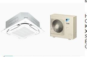 Máy lạnh âm trần Daikin Inverter FCFC100DVM/RZFC100DVM 4HP
