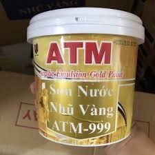 Cung cấp sơn nước nhũ vàng ATM 999 cho đền chùa giá rẻ ở TP.HCM