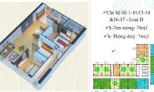 Bán căn hộ chung cư 74m2 ở Eco Green City