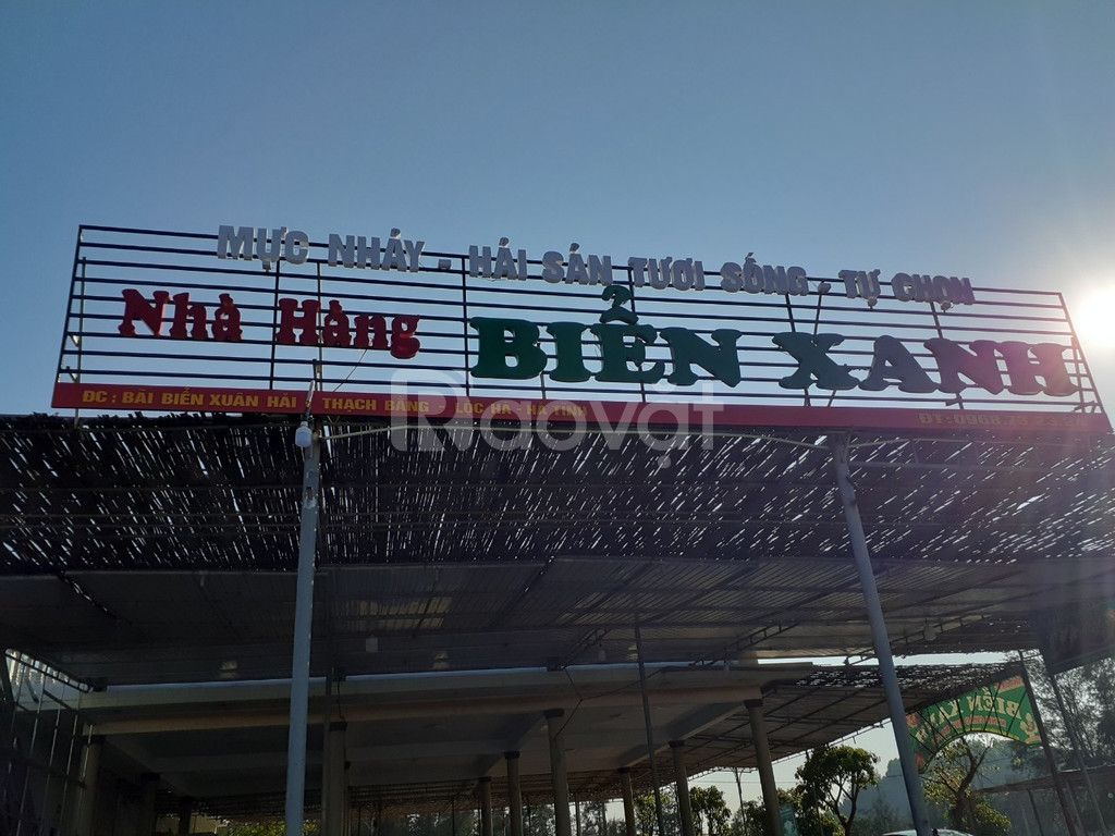 Phần mềm tính tiền cho quán hải sản tại Hà Tĩnh giá rẻ