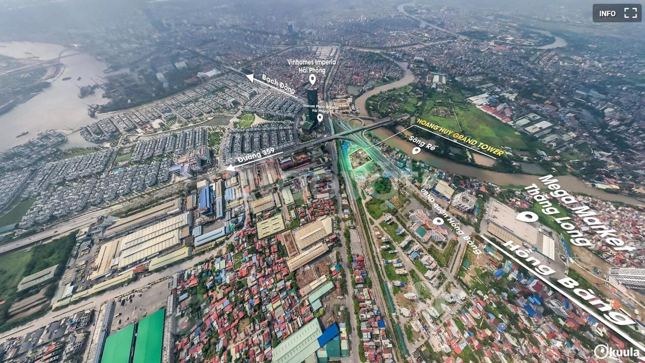 Chung cư cao cấp Hoàng Huy Grand Tower Sở Dầu - giá gốc CĐT