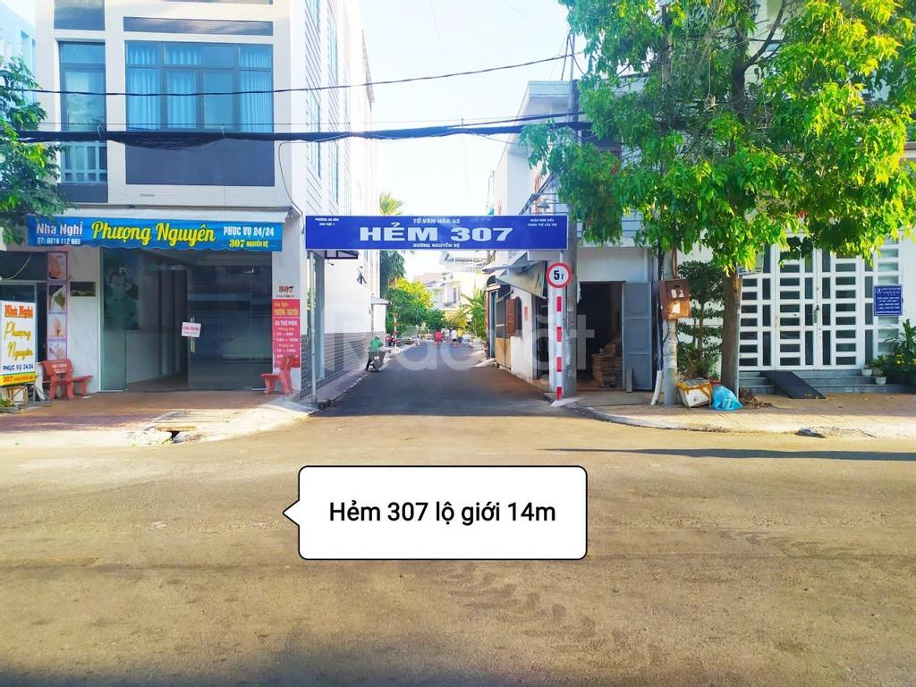 Cho thuê nhà đẹp, giá rẻ hẻm 307 Nguyễn Đệ, Ninh Kiều, Cần Thơ