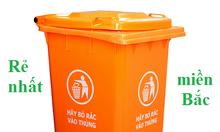 Thùng rác 240l nắp kín, thùng rác nhựa 240 lít, thùng rác 240l giá rẻ