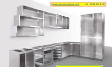 Tủ bếp inox đẹp của Hải Minh