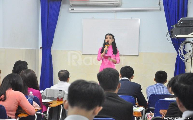 Khai giảng khóa đào tạo MC