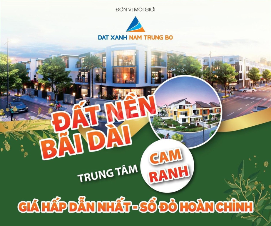 Đất nền mặt tiền đường Đinh Tiên Hoàng, Vịnh Cam Ranh, Khánh Hòa