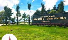 Đất nền khu TĐC Becamex Chơn Thành, Bình Phước giai đoạn 1, 2, 3