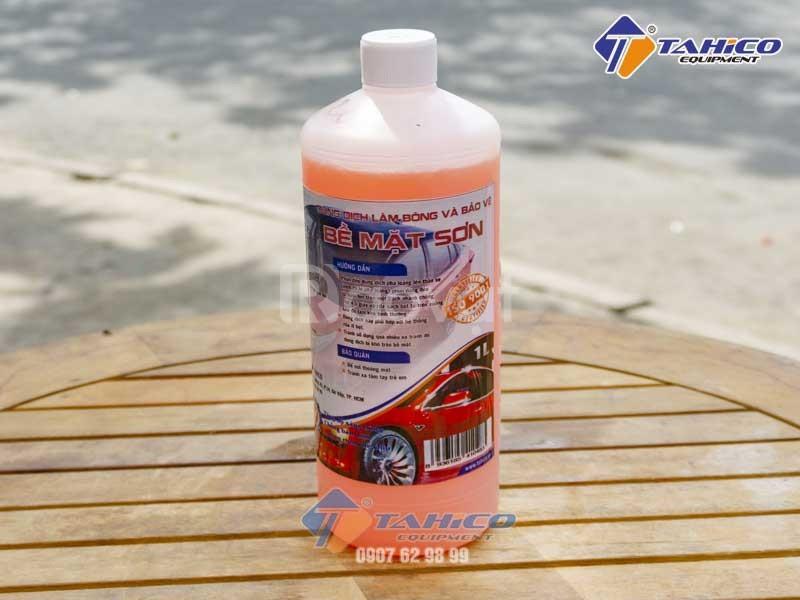 Dung dịch làm bóng sơn và bảo vệ thân xe ô tô du lịch Ventek