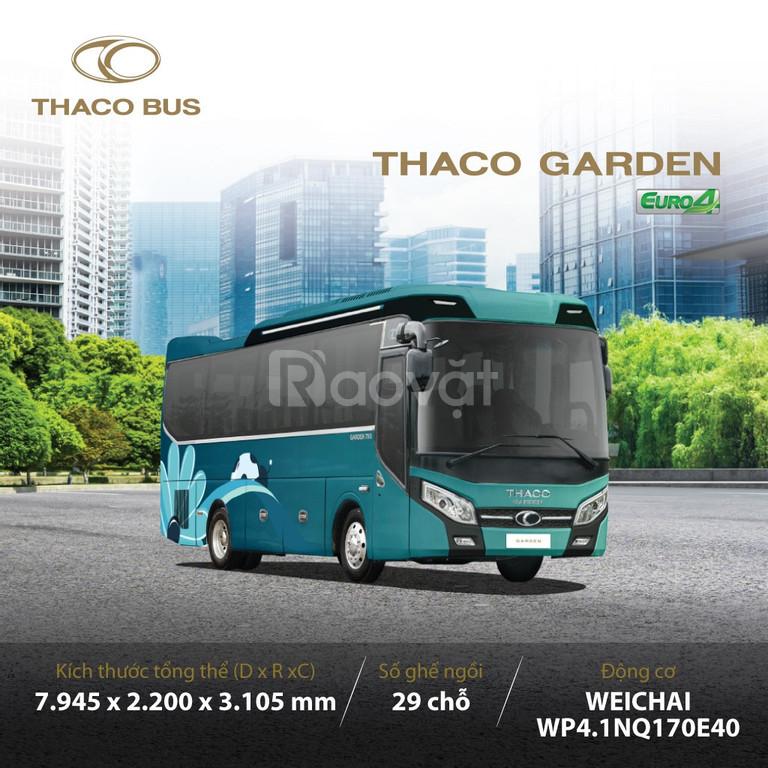 Thaco bus Tb79S xe bus 29 ghế tại Hải Dương