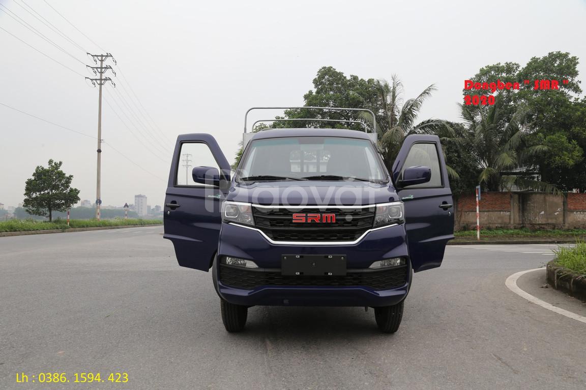 Xe tải dongben SRM tải 930kg đời 2020 , dongben srm thùng dài 2m7.