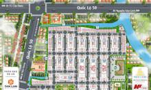 Khu đô thị mới cần mặt tiền QL.50 giá 731tr/nền