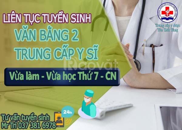 Đào tạo văn bằng 2 trung cấp y sĩ ở đâu tp.HCM