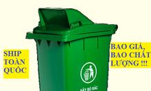 Thùng rác 240l nắp hở, thùng rác nhựa 240 lít, thùng rác 240l giá rẻ