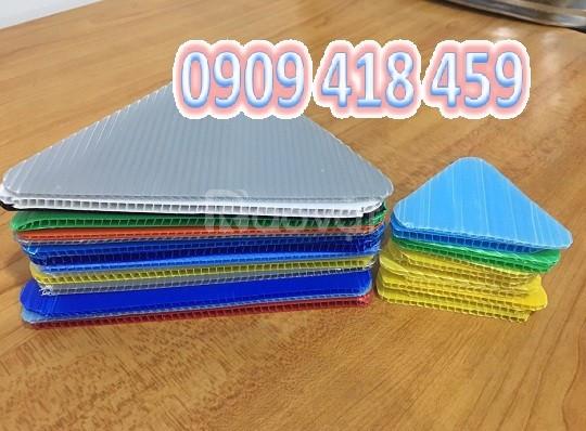 Tấm nhựa pp danpla 4mm, tấm nhựa carton 4mm tại Tp. HCM