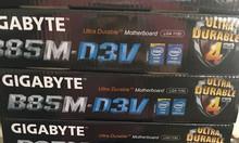 Main giga byte B85m-d3v mới đẹp 99%