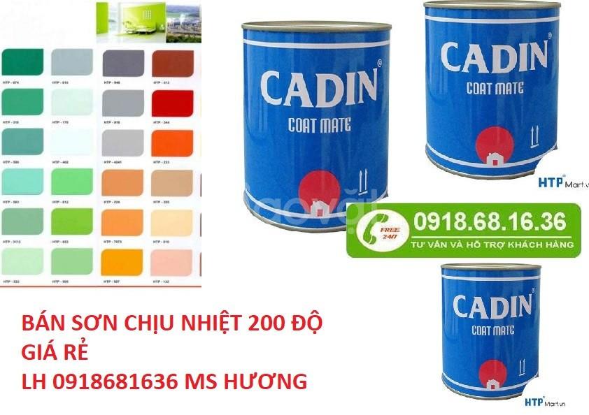 Cần mua sơn chịu nhiệt màu xám cho lò hơi tại Bình Dương