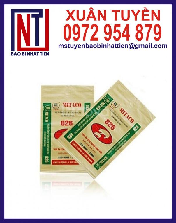 In bao bì thức ăn chăn nuôi 25kg giá cạnh tranh