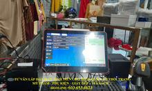 Bộ máy tính tiền cho cửa hàng tạp hóa, bách hóa, shop