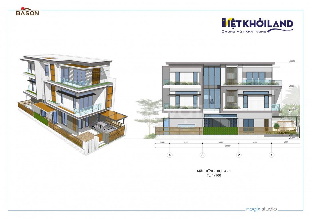Biệt thự 1 trệt 2 lầu 160m2 Nguyễn Duy Trinh, Q9