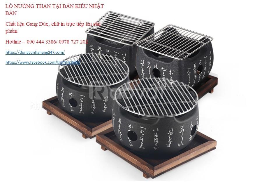Bếp nướng Nhật Bản, lò nướng Nhật, bếp nướng than Nhật