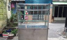 Tủ bán hàng ăn inox đẹp và tiện lợi