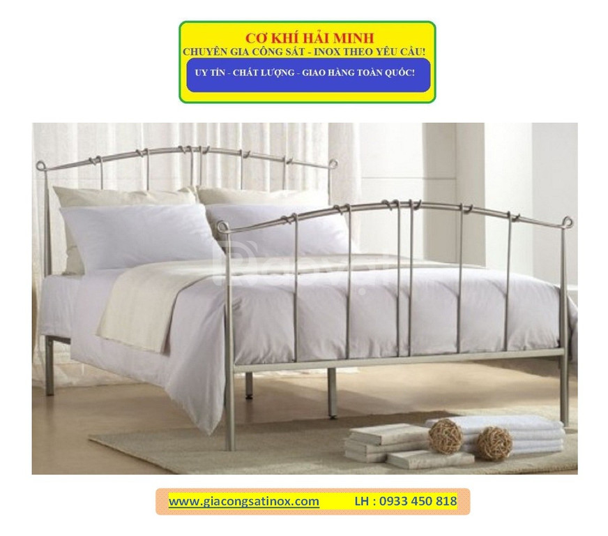 Giường ngủ sắt uốn nghệ thuật
