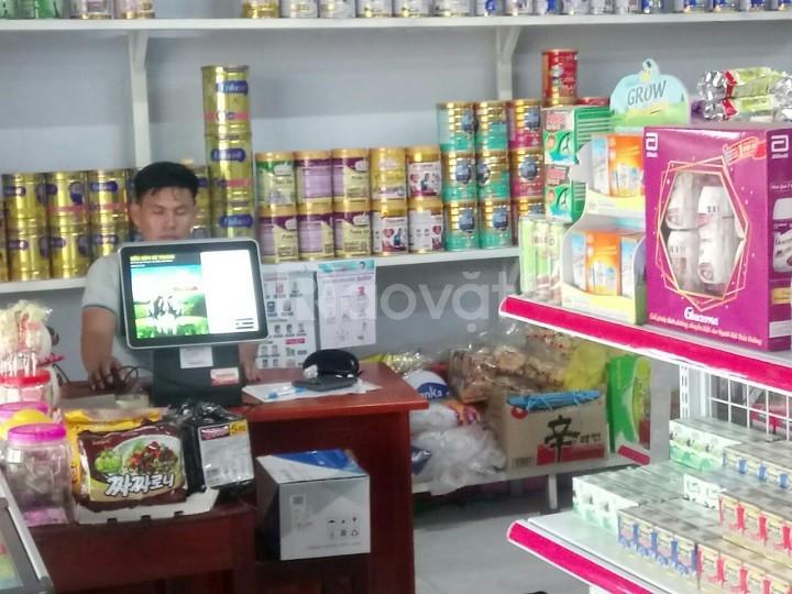 Máy tính tiền cho shop bỉm sữa giá rẻ tại Bình Dương
