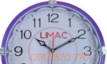Làm đồng hồ treo tường quảng cáo, đồng hồ in logo theo yêu cầu