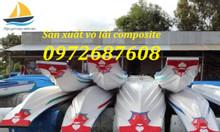 Bán vỏ lãi composite, vỏ xuồng composite câu cá, du lịch, chở hàng