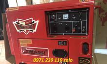 Máy phát điện chống ồn chạy dầu 5kw Ymasu 6700T