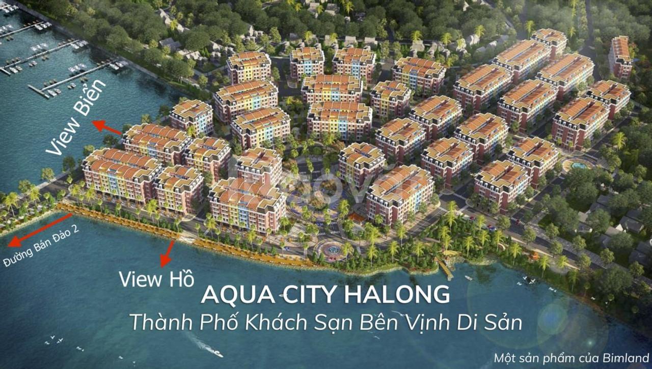 Cần thanh lý gấp căn shoptel Aqua city Hạ Long