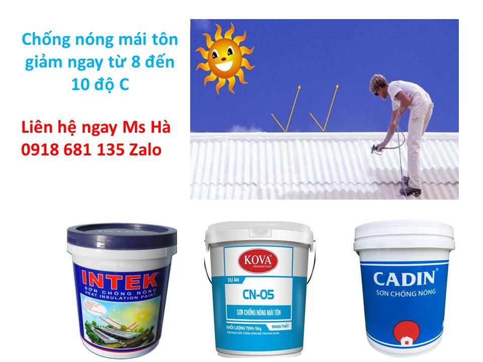 Hướng dẫn thi công sơn chống nóng hiệu quả cho tường đứng, mái tôn