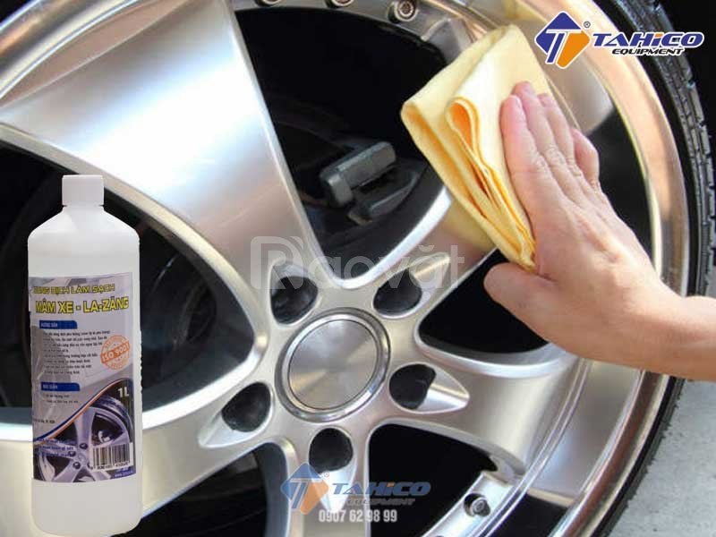 Dung dịch làm sạch vành mâm bánh xe la zăng ô tô Ventek