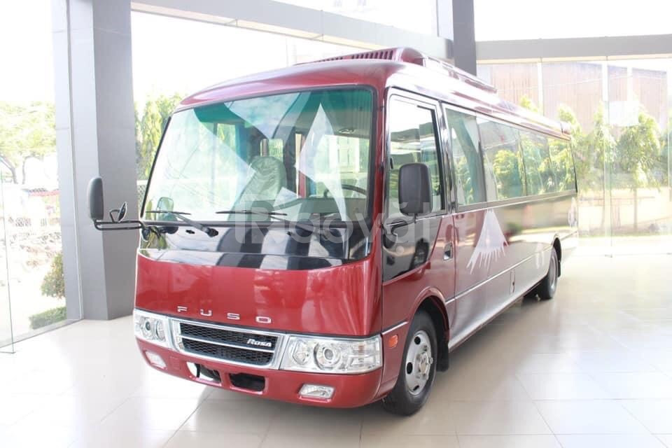 Xe khách 29 ghế Fuso Rosa khu vực Hà Nội