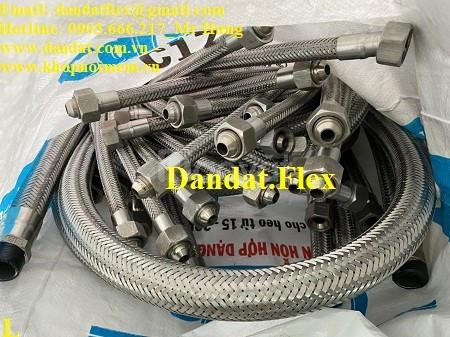 Vật tư ngành nước - khớp nối mềm inox các loại - ống nối mềm inox 304