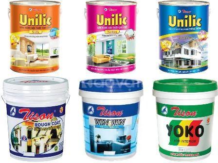 Tìm đối tác cung cấp sơn nước nội thất Tison giá rẻ cho công trình