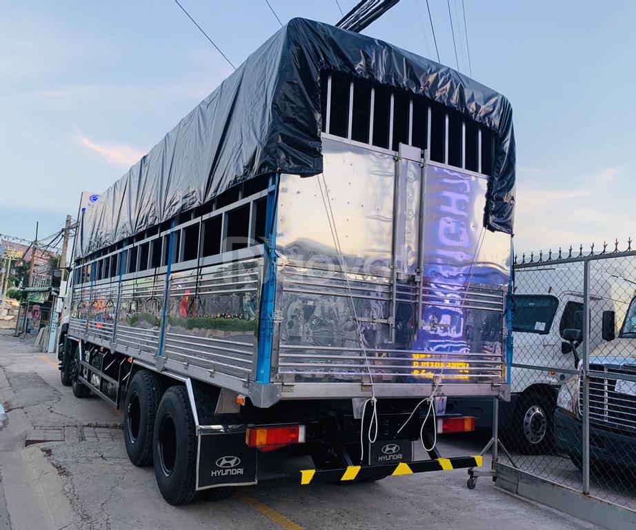 Giá xe tải Dongfeng hoàng huy 4 chân tải 17 tấn 99 ISL 315