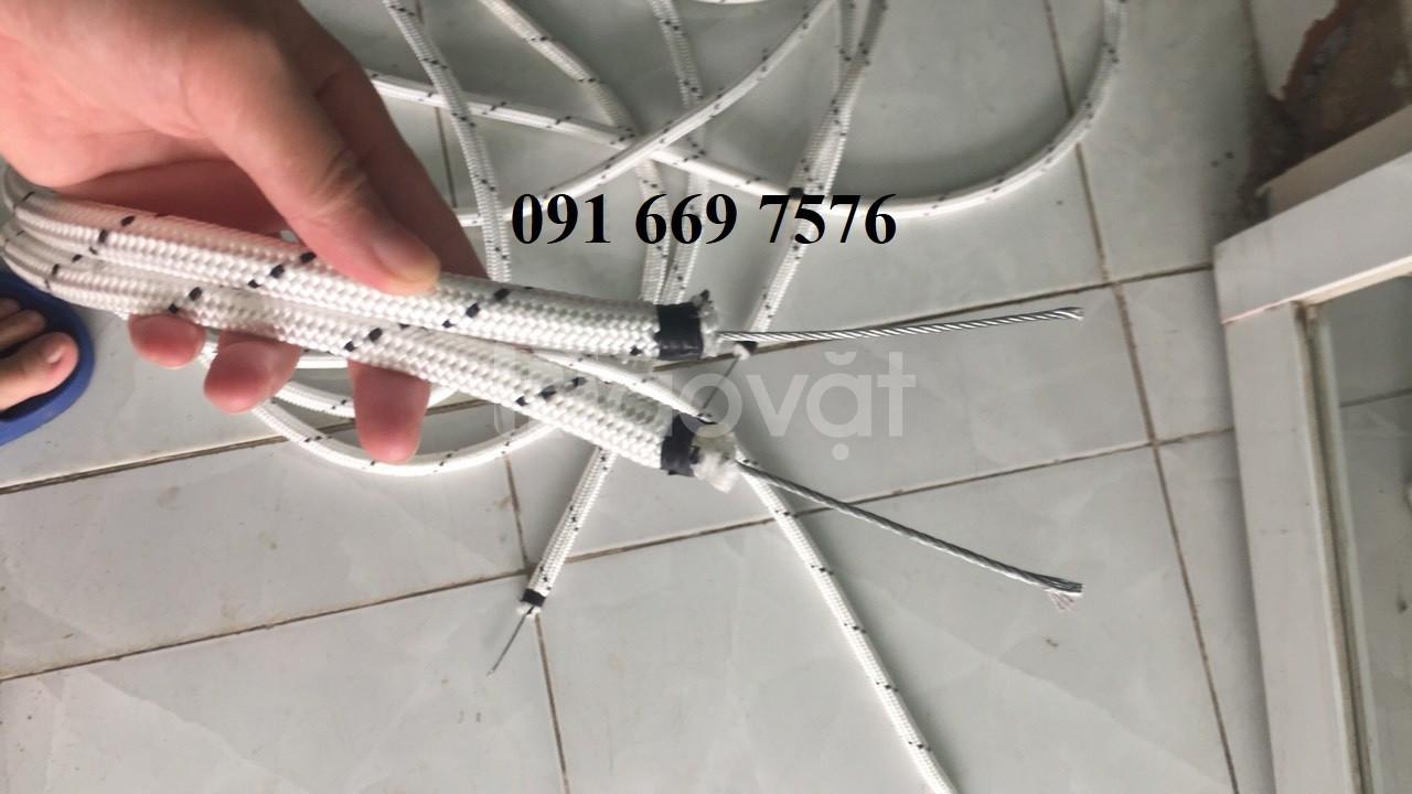Sản xuất dây thừng lõi cáp thép bảo hành 12 tháng