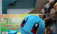Sản xuất  mascot hoạt hình rùa pokemon