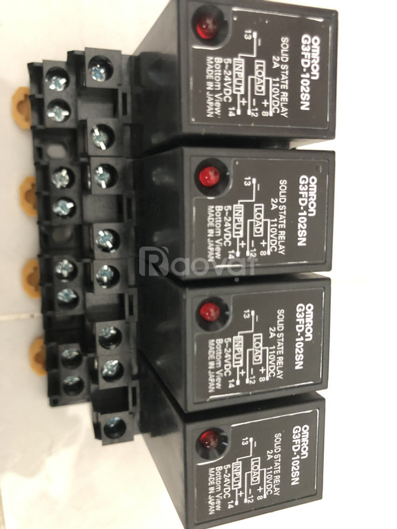 Role trung gian/Solid State Relay OMRON G3H/G3F-203S/203SN/203SLN/G3HD