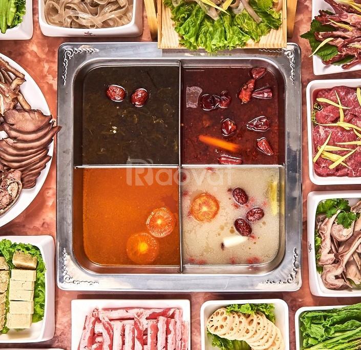 Mẫu nồi lẩu 4 ngăn inox giá rẻ bán chạy nhất tại Hà Nội