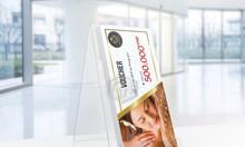In voucher, thẻ tích điểm giá rẻ TPHCM