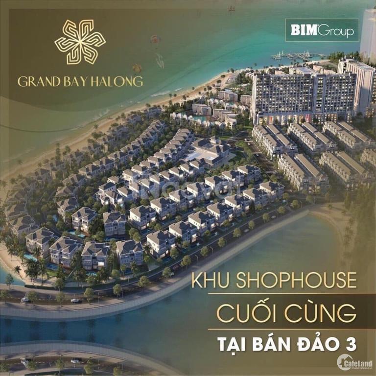 Chính chủ bán gấp căn góc đẹp dự án Grand Bay Villas Hạ Long