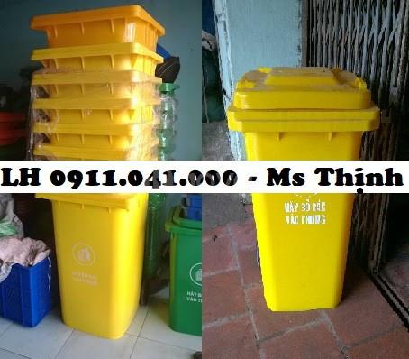 Thùng rác thải sinh hoạt